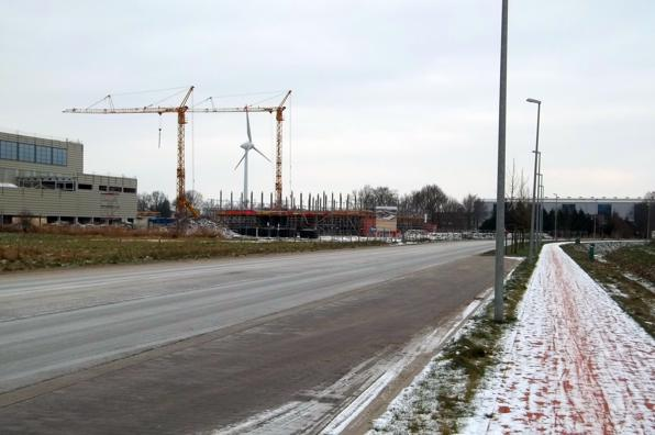 Industriegebiet in Sandhorst